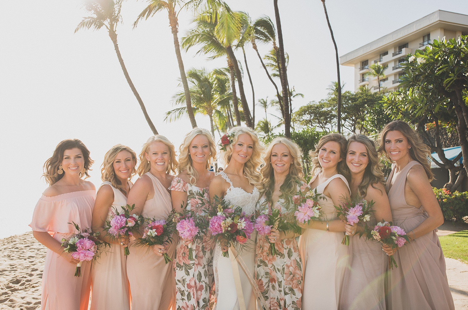 Spray Tanning Your Bridal Party